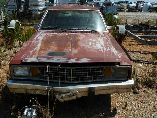 1981 Ford Farimont Wagon For Sale In Gastonia Nc