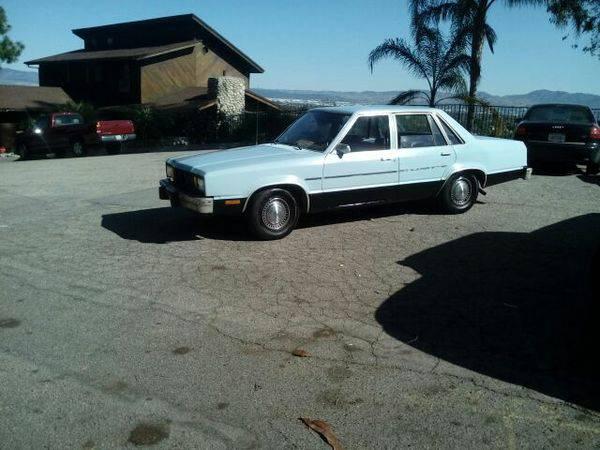 1981 Ford Farimont 4DR Sedan For Sale in San Bernardino, CA