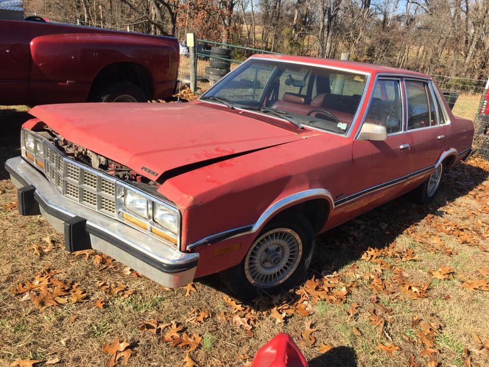 1983 Ford Fairmont 4DR Sedan Project For Sale in Rogers, AR